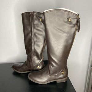 LIKE NEW Brown Report Riding Boots Size 8.5